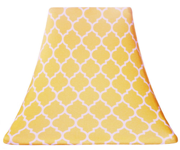 Moroccan Yellow - SLIP COVERS for lampshades