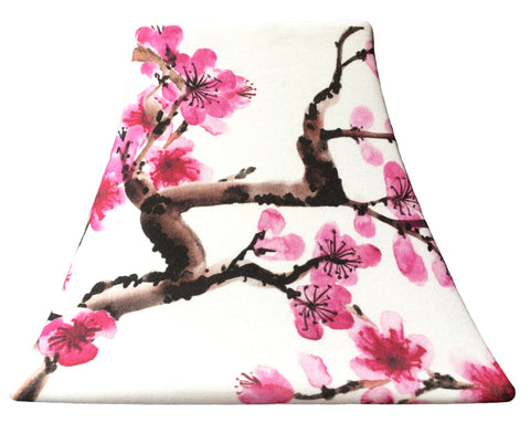 Oriental Blossoms - SLIP COVERS for lampshades