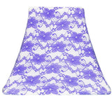 Purple Lace - SLIP COVERS for lampshades
