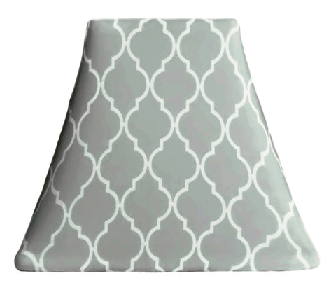 Quatrefoil Cloud - SLIP COVERS for lampshades