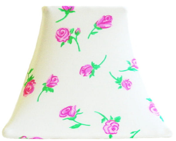 Rose Bud - SLIP COVERS for lampshades