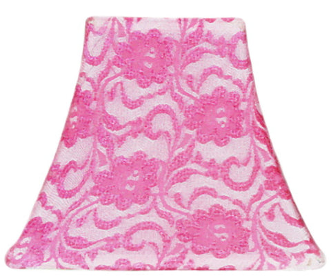 Rose Lace - SLIP COVERS for lampshades
