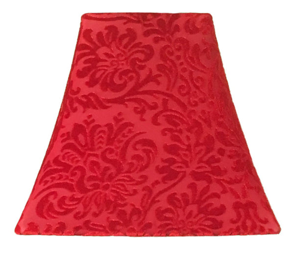 Ruby Damask - SLIP COVERS for lampshades