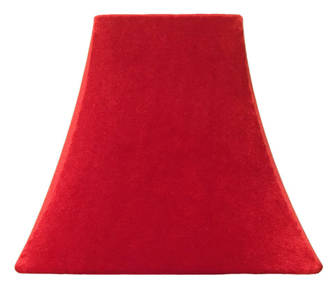 Ruby Velvet - SLIP COVERS for lampshades