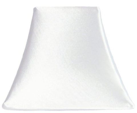 Snow White Satin - SLIP COVERS for lampshades