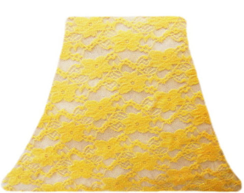 Sunrise Lace - SLIP COVERS for lampshades