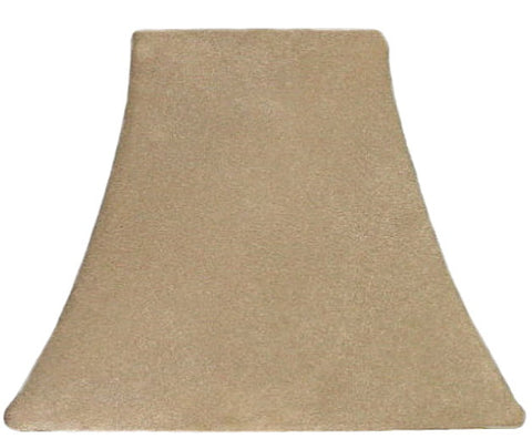 Tan Suede - SLIP COVERS for lampshades