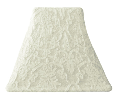 Winter White Lace - SLIP COVERS for lampshades
