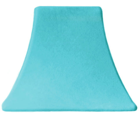 Aqua Velvet - SLIP COVERS for lampshades