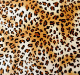 Baby Leopard Velvet - SLIP COVERS for lampshades