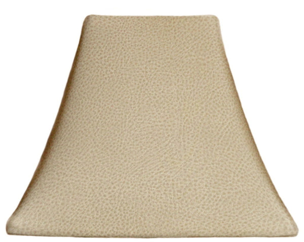 Blonde Leather - SLIP COVERS for lampshades
