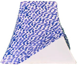 Periwinkle Dots - SLIP COVERS for lampshades