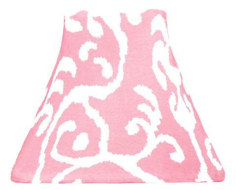 Bubblegum Ikat - SLIP COVERS for lampshades