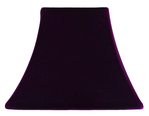 Dark Plum Velvet - SLIP COVERS for lampshades