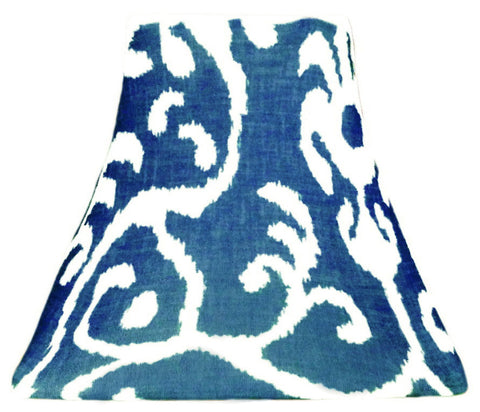 Denim Ikat - SLIP COVERS for lampshades
