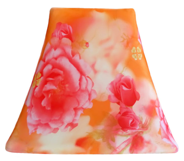 Tangerine Bouquet - SLIP COVERS for lampshades