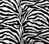 Zebra Velvet - SLIP COVERS for lampshades