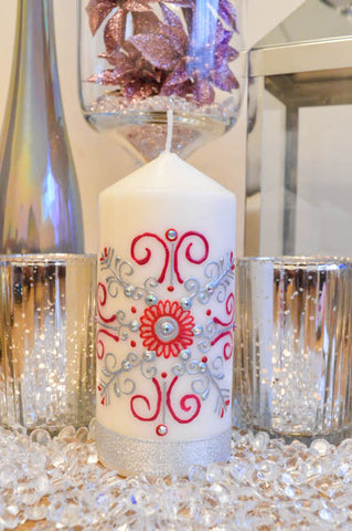 Personalised Pillar Candle