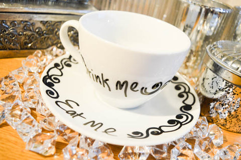 eat me teacup set