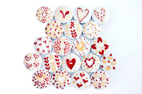 queen of hearts tealights