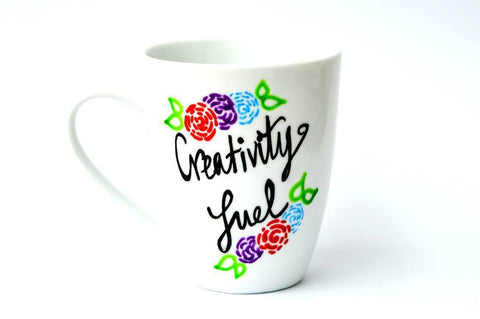 creativity fuel me mug