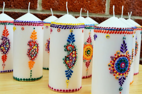 pillar candles for spirituality