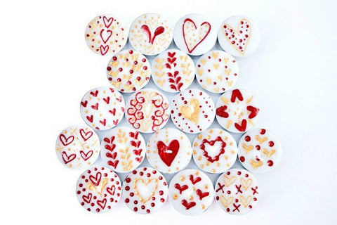 Queen Of Hearts (Pack of 20 Assorted)