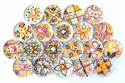 Rangoli Madness (Pack of 20 Assorted)