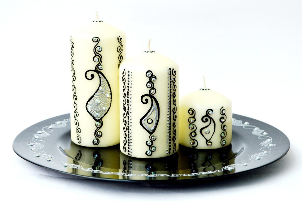 Personalised Candle Sets - Lustrous Night
