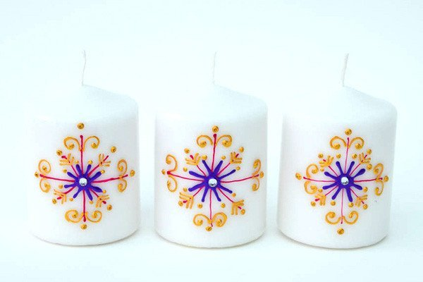Personalised Candle Sets - Precious Snowflake