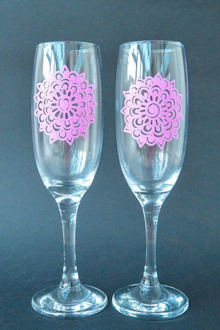 Mandala Mimosa (Set of 2)