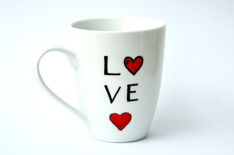 Personalised Mugs - Love A Little