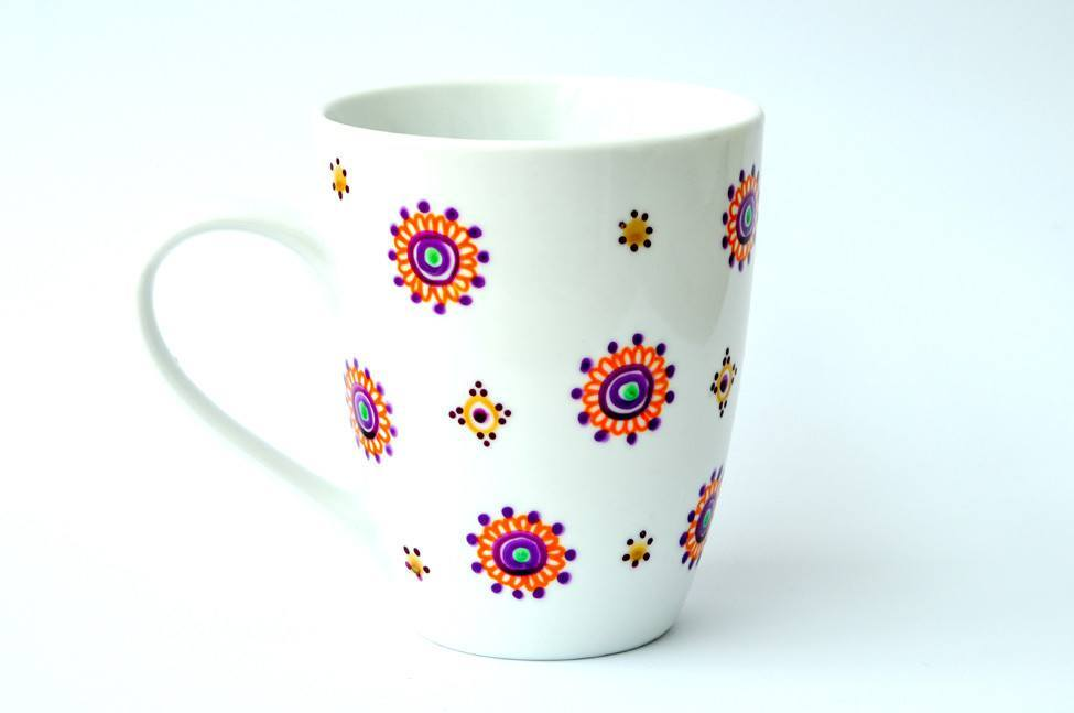 Personalised Mugs - Mandala Madness
