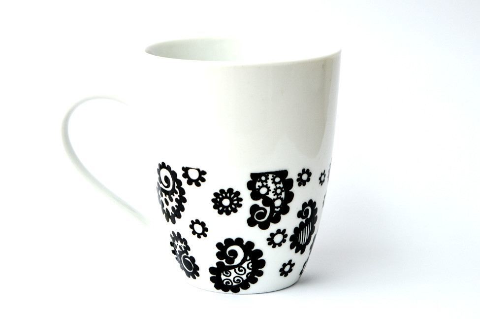 Personalised Mugs - Paisley Print