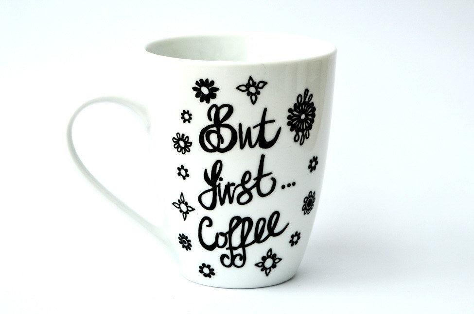 Personalised Mugs - Thirst Things First