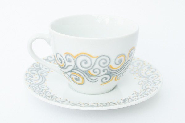 Personalised Tea Cups - Breaking Waves