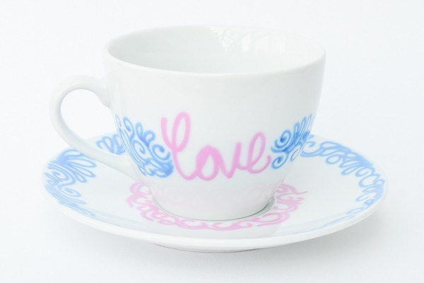 Personalised Tea Cups - One Love