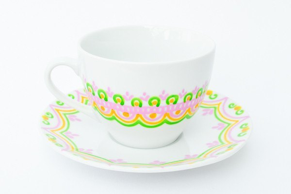 Personalised Tea Cups - Tropical Tea
