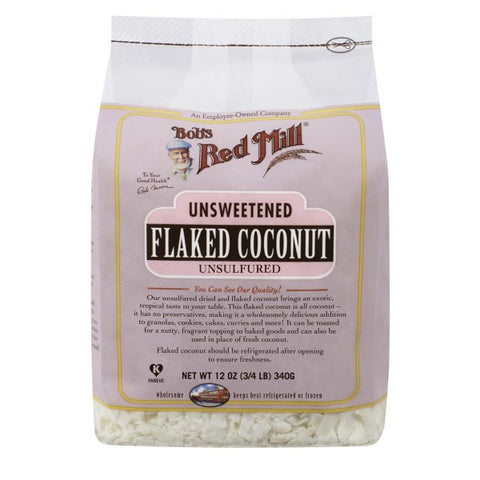 Bob's Red Mill - Unsweetened Coconut Flakes - 340 g