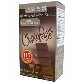 ChocoRite Milk Chocolate Bar (Five 28g Bars)