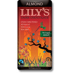 Lily`s Dark Chocolate Almond 85g
