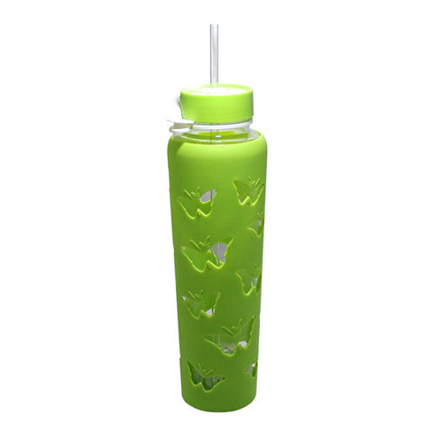 THM Butterfly Sipper Jar 32oz – Green