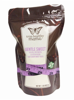 Trim Healthy Mama Gentle Sweet (Erythritol, xylitol and Stevia Ground Blend) (1 lb pkg)