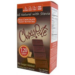 ChocoRite Milk Chocolate Peanut Butter Bar (Five 28g Bars)