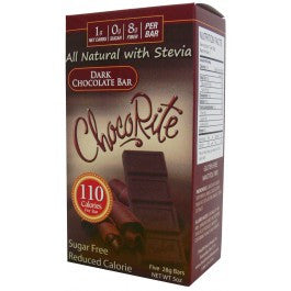 ChocoRite Dark Chocolate Bar (Five 28g Bars)