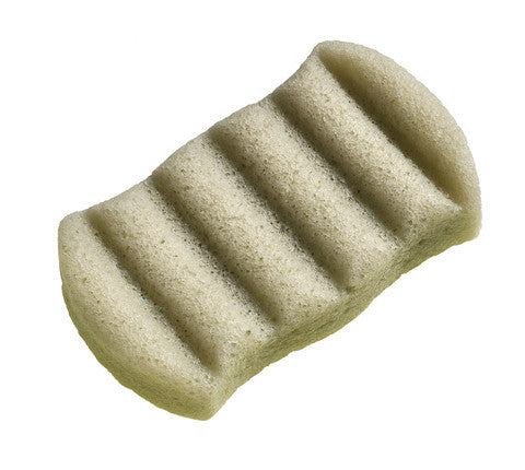 Konjac Natural Body Sponge Green Clay - Combination & Blemish Skin Types