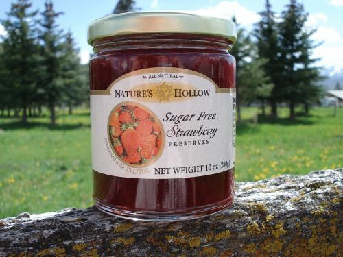Nature's Hollow Sugar Free Strawberry Preserves