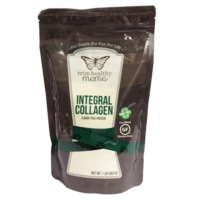 Trim Healthy Mama Integral Collagen (16 ounces) 100% Organic Hydrolysate Collagen