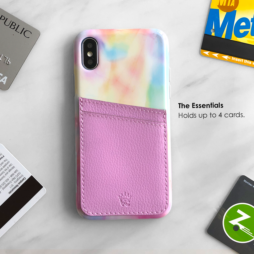 Lavender Phone Wallet