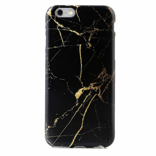 uk availability 0bfd8 66528 Black & Gold Marble iPhone Case